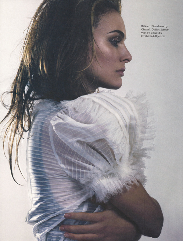 Natalie Portman for Elle UK ( February 2010 )