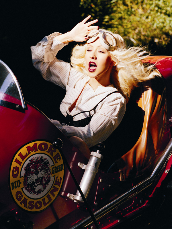 Christina Aguilera for Back to Basic ( 2007 )