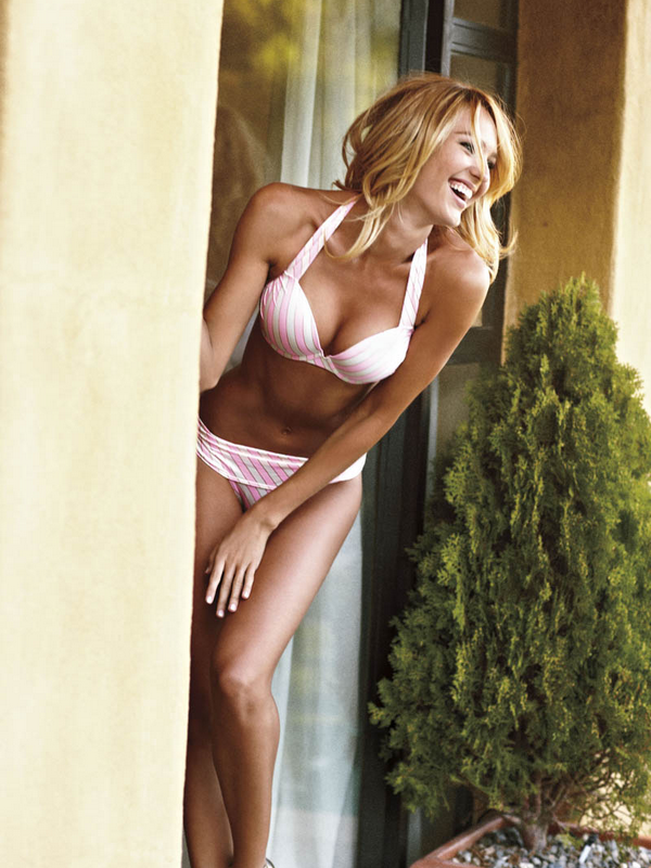 Candice Swanepoel for Victoria's Secret Bombshell Summer Collection