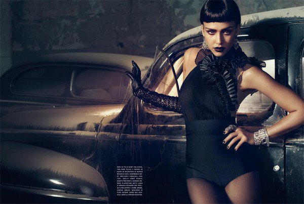 Jessica Alba for Vogue Italia ( April 2011 )
