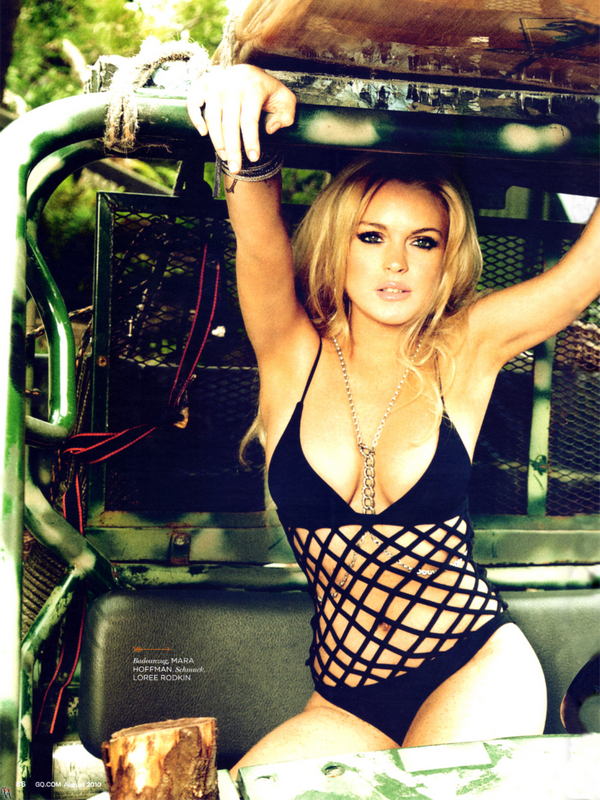 Lindsay Lohan – GQ Germany ( August 2010 )