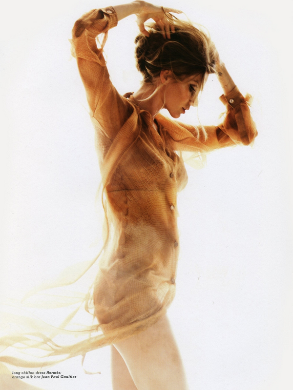 Gisele Bundchen for Muse Magazine   ( Summer 2010 )