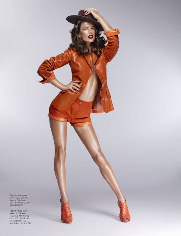 Alessandra Ambrosio for LOVE Magazine( Summer 2011 )