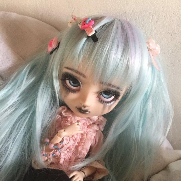 Séance photos de Meï avec sa nouvelle wig!