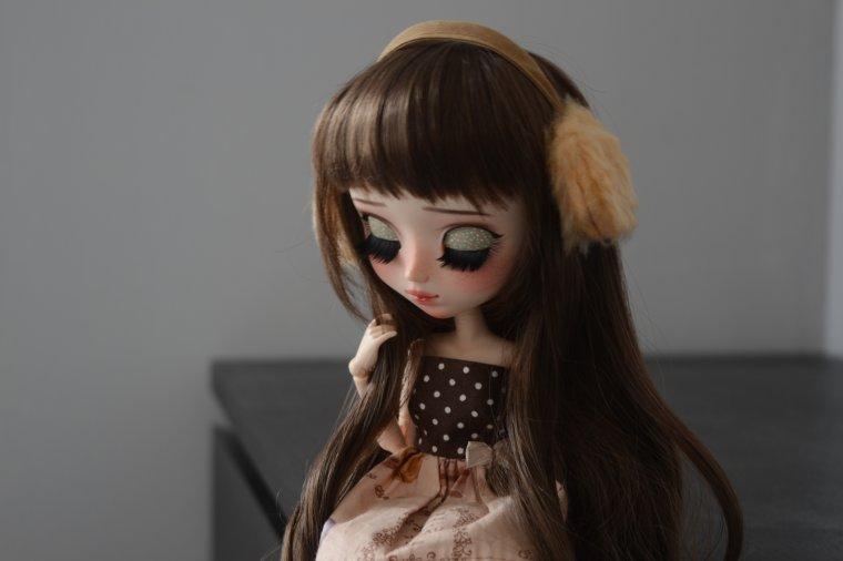 Première séance photos de Zoé.