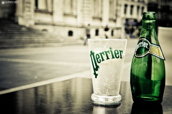 Are you thirsty ? - Perrier