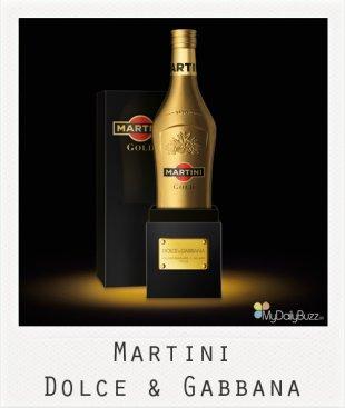 Martini revisité par Dolce & Gabbana