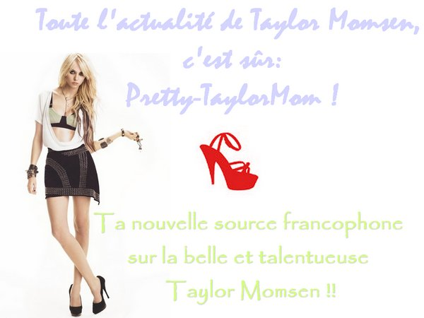 Viens visitez mon nouveau blog: Pretty-TaylorMom.skyrock.com/.