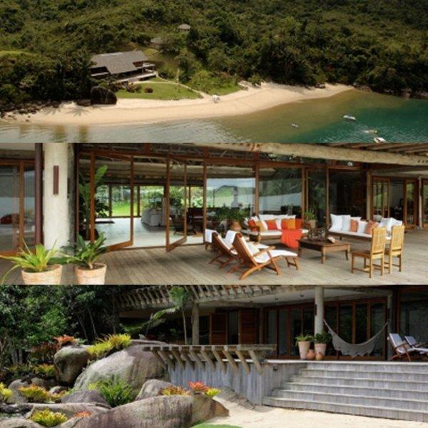 Des photos de l'Île d'Esmé, et de la maison. Le paysage est vraiment magnifique et la maison superbe.