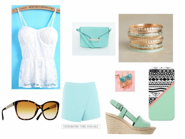 Tenue Concours Elodie-Lagirly ( thème tenue d'été en bleu )