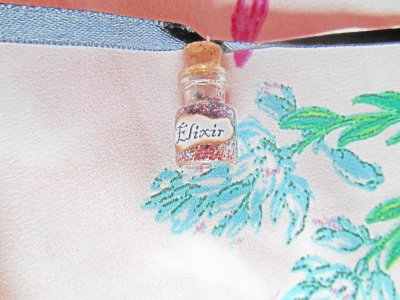 Simples Bracelets en Tissu avec Pendentifs