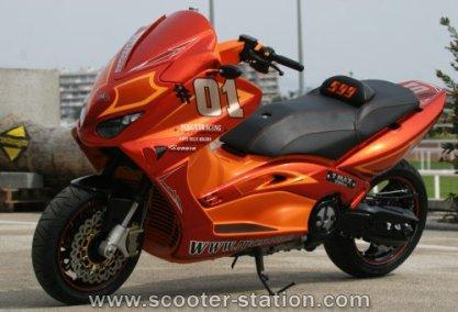 J'aime bien les motos !