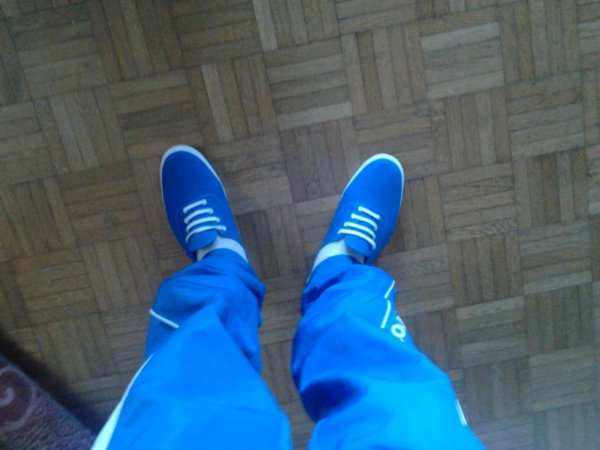 J'adore le bleu <3
