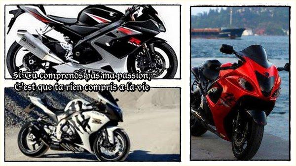 MSB La passion de la moto ... Rien de tel pour donner des ailes .