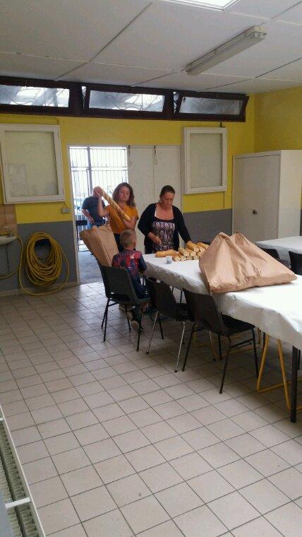 Samedi 2 septembre barbecue pour la fin de saison de la mosaïque de Liévin pour les amateurs et les habitués