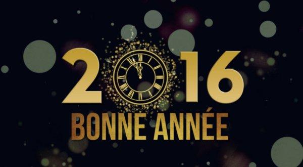 Meilleurs voeux pour cette nouvelle année...