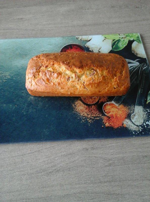 Cake lardons/emmental