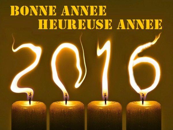 bonne  année  2016  ♫♫♫