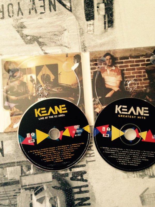"""coffret cd , dvd  keane """" greatest hits """" ♫♫♫♫"""