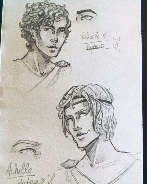 Patrocle & Achille