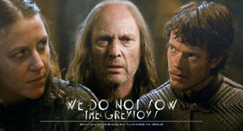 La famille Greyjoy