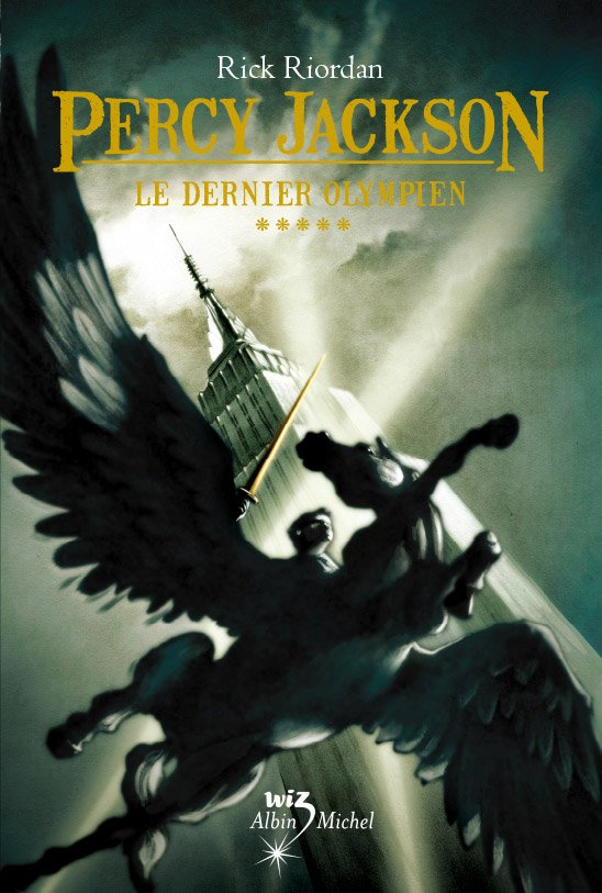 Percy Jackson tome 5 Rick Riordan