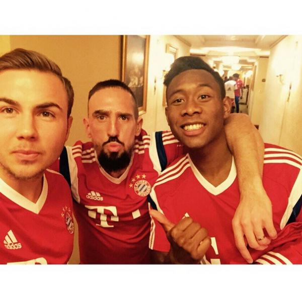 Avec Franck et David :)
