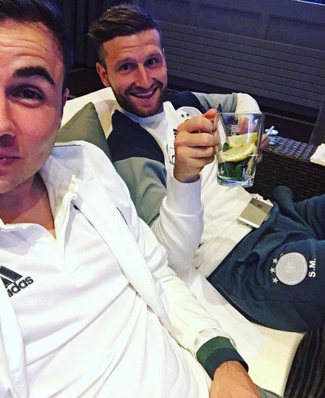 Watching #euro2016 with Shkodran