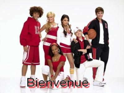 Bienvenue High school musical