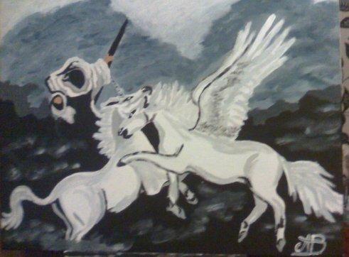 """Licorne VS Pégazus"""