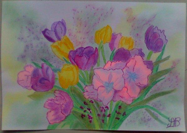 """Bouquet de tulipes"""