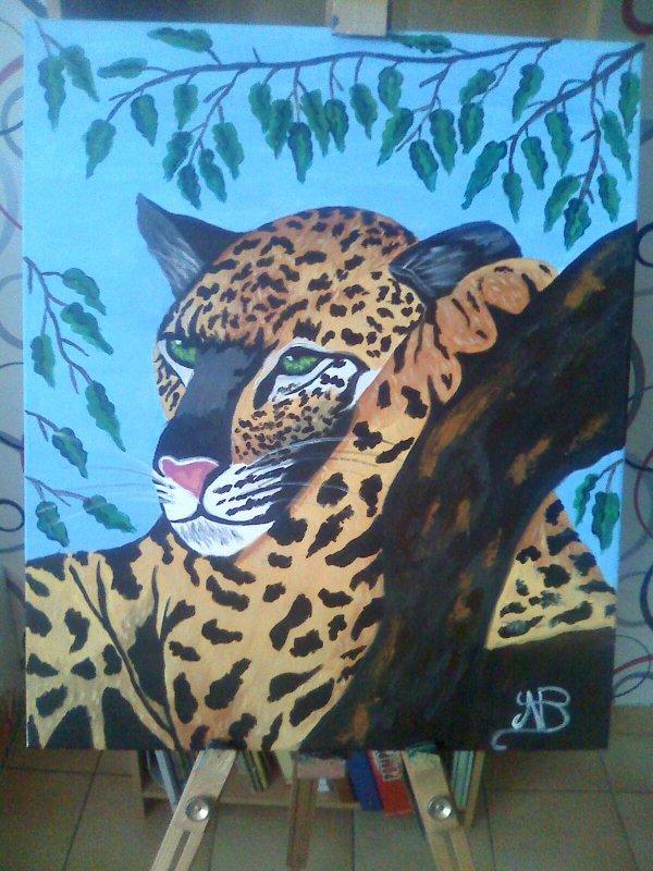 Repos du léopard