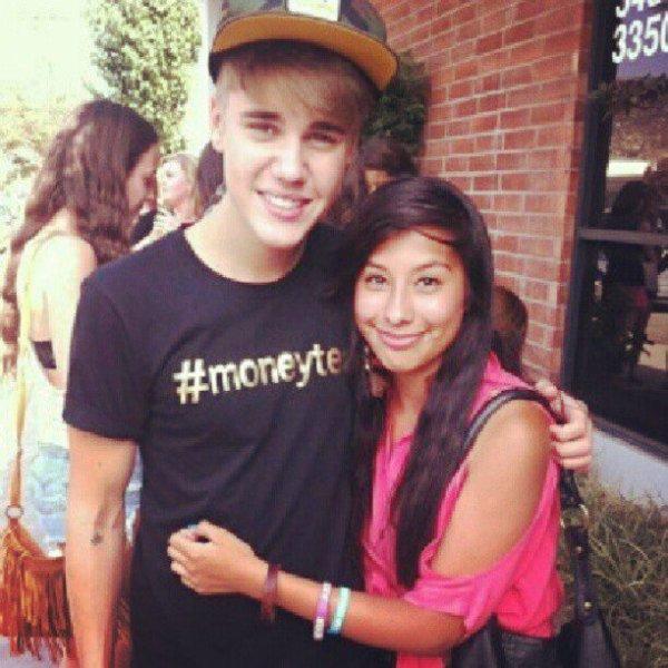 Justin Bieber & une fan