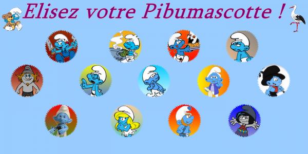 L'élection de la Pibumascotte de la saison 3 de Pibunivers Story ! :)