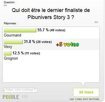 Demi-Finale de Pibunivers Story !