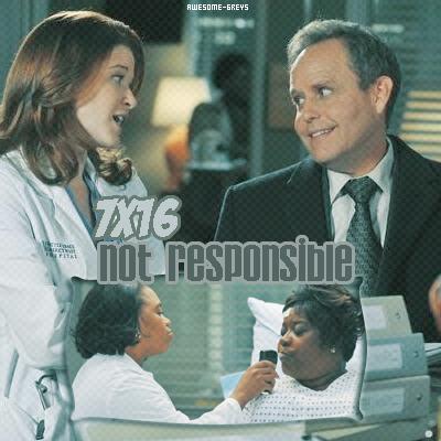 "_ »  7x16  "" Not Responsible """