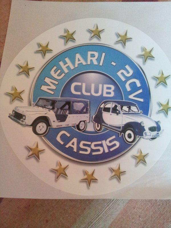 Souvenirs du 2Cv Méhari Club de Cassis
