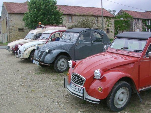 Balade 2cv en Seine et Marne (77)