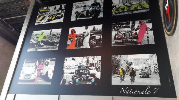 Retour de la Nationale 2cv par la Nationale 7