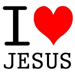 I Love Jesus !   Jésus est dans mon coeur <3
