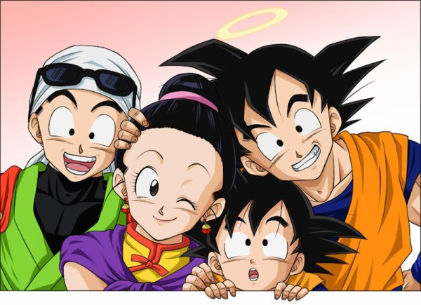 la famille de Goku :)