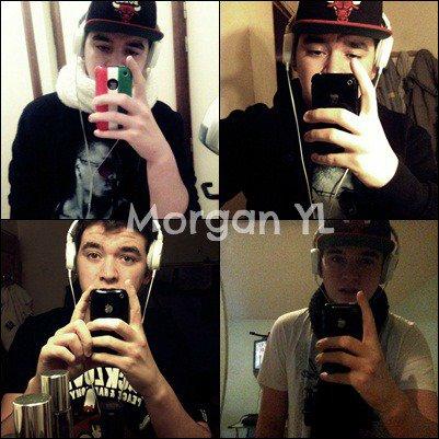 Coucou. Moi c'est Morgan. (a). <3<3