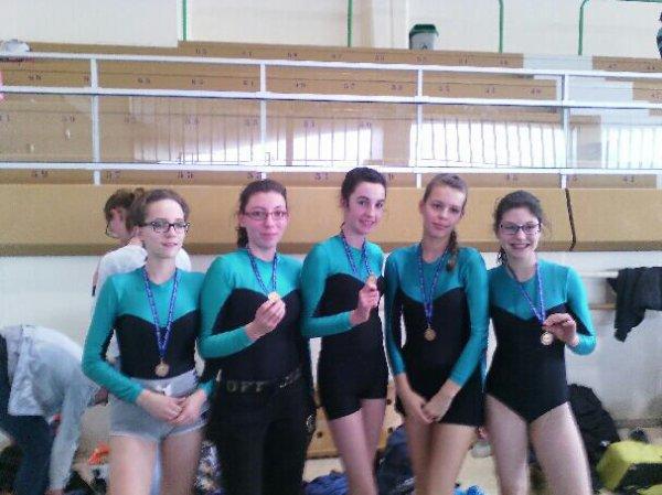 Compétition de gym ! ❤
