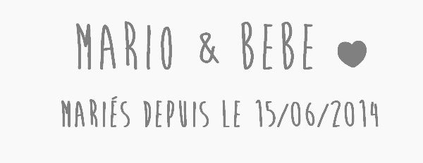 ܤ Troisième couple ܤ