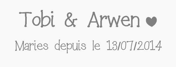 ܤ Dix neuvième couple ܤ