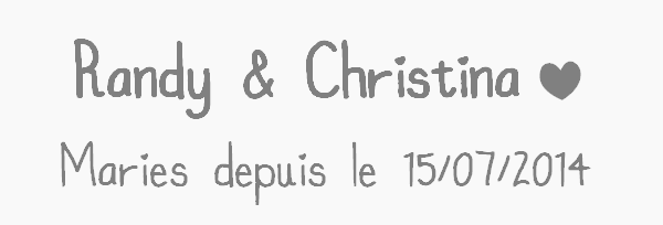 ܤ Vingtième couple ܤ