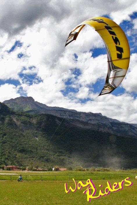 Kitesurfing Préparing