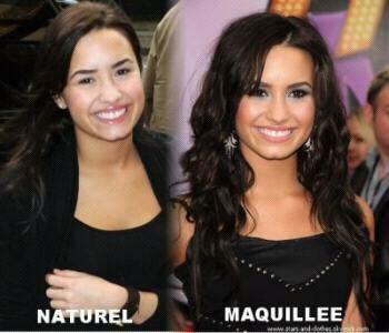Naturelle ou Maquillée ??