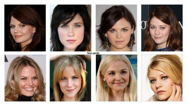 Blonde ou Brune ???
