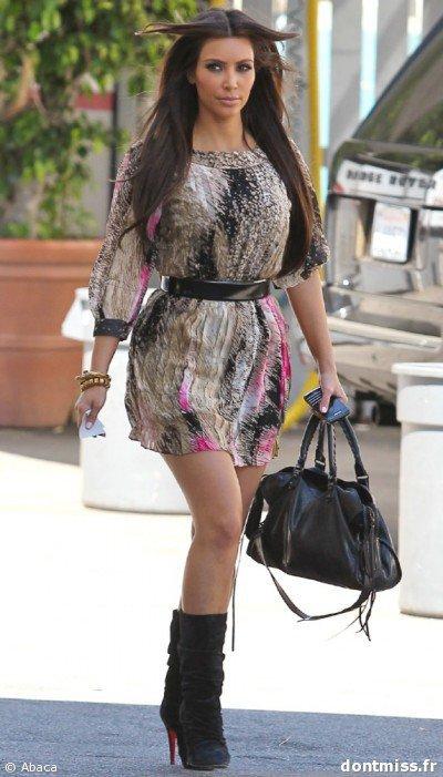 Kim Kardashian - Mode de stars 94e7a27b204